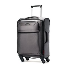 Samsonite Lift Spinner 21  Inch Expandable Wheeled Luggage, Charcoal -- Too large for a carry-on?