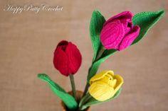 Crochet Tulip