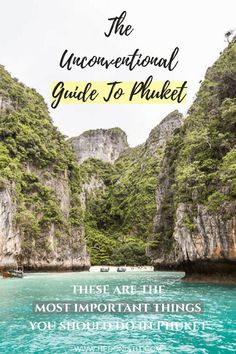 Tired of the same old generic Phuket travel guides? Read about the 6 things you have to do when going for a vacation in Phuket - and a few other attractions you should and shouldn't do while in the island.