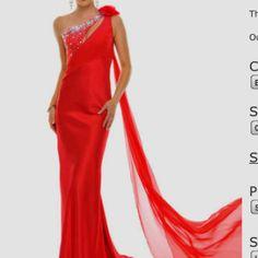 Red prom dress?