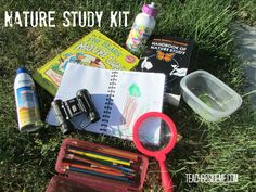 "Nature Study Kit from ""Starting a Summer Nature School"" by Teach Beside Me"