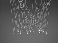 Lampada a sospensione in alluminio MATCH by Vibia | design Jordi Vilardell & Meritxell Vidal