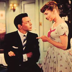 Frank Sinatra & Debbie Reynolds in 'The Tender Trap' (1955)