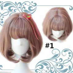 6 Colors Lolita Curl Wig SP167416