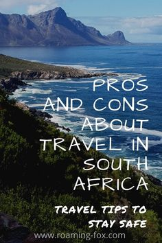 Travel tips to stay safe in South Africa #SouthAfrica #traveltips #safetytips #culture #crime #food #scenery #wildlife #beaches #mountains Fox Facts, South Africa, 4x4, Travel Tips, Road Trip, Travel Advice, Road Trips