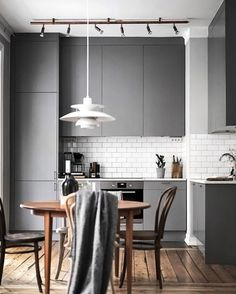 A beautiful kitchen styled by @scandinavianhomes