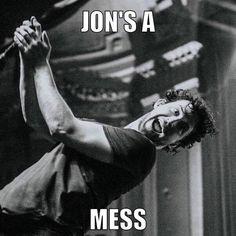 Jon's a Mess!! So punny. Jon Mess, Dance Gavin Dance @AprilieBee