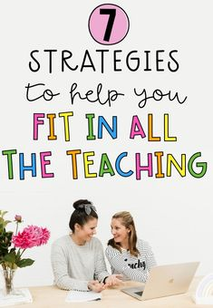 It's the one thing ALL teachers battle. How do I fit in all the teaching? There aren't enough hours in the day. To help with those heart palpitations or early morning insomnia we have put together 7 strategies to try and help elevate the stress and overwhelm when teaching becomes too much! Read about it on our blog. Teaching Plan, Teaching Strategies, Teaching Kindergarten, Teaching Tips, Primary School, Elementary Schools, Planning School, Heart Palpitations, Rainbow Sky