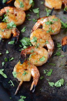 Sweet & Sticky Shrimp