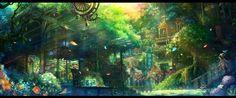 壮大なファンタジーな世界観【壁紙イラスト画像集まとめ】2次RPG【ドラクエFF風】