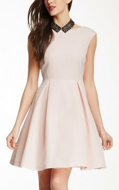 Pink Bow Back Dress