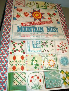 free mountain mist quilt patterns - Google Search | Vintage Quilts