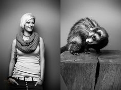 Portrait Series: Your Pet and You by Tobias Lang