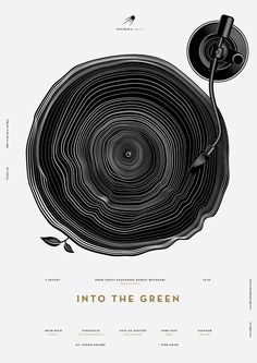 Poster Design Inspiration: Artistic Jazz Poster Designs - My Note Book Jazz Poster, Vinyl Poster, Gig Poster, Print Poster, Design Graphique, Art Graphique, Graphic Design Posters, Graphic Design Illustration, Poster Designs