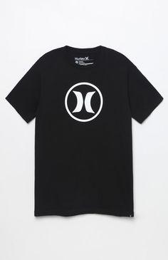Circle Icon Black T-Shirt
