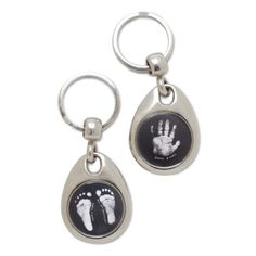 A great gift idea for Godparents, friends and family, a personalised key ring with your...