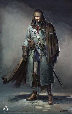 Bellec Assassin Trainer ACU, Remko Troost on ArtStation at https://www.artstation.com/artwork/D9kN0