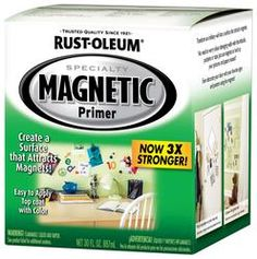 Magnetic paint!