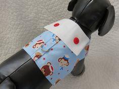Monkey Harness  Dog Harness Vest Custom Made by graciespawprints
