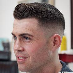 Thanks again @shaunbird88 #menshair #mensstyle #mensgrooming #gentscut #barber #barbering #barbergang #barberlife #ukbarber #internationalbarbers #barbershopconnect #barbersinctv #skinfade #baldfade #fades #fadegame #oldschool #classic #sidepart...