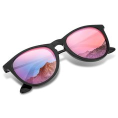 c30dda0dd74 Polarized Wayfarer Sunglasses- Unisex Lightweight Shades for Women Men by -  CD18529D7M5 - Women s