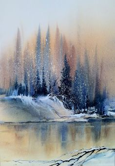 Hanna L Jakobsen WATERCOLOR