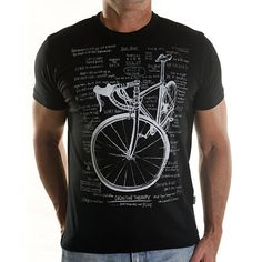 Cognitive Therapy Black - Men's Cycling T Shirt Gift For Cyclists Man Gift