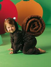 the squirrel or a snail - some free costume patterns for kids and adults