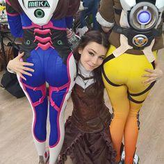 Overwatch essentials : cosplaygirls