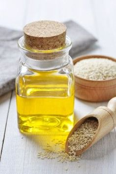 Amazing Benefits Of Sesame Oil.  Sip 1 TBSP oil in morning.  Swish for 10 min before brushing teeth.  Helps remove tartar bad breath.