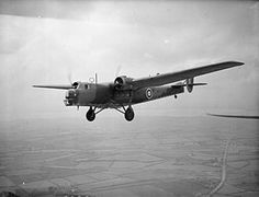 The Bristol Bombay was a British troop transport aircraft adaptable for use as a medium bomber flown by the Royal Air Force (RAF) during the Second World War.