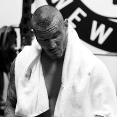 Randy Orton receives 10 staples: photos