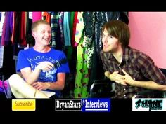 Shane Dawson Interview Featuring Shanna Malcolm 2012 shane isn't in a band but the interveiw is still funny