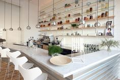 the bar at the aamans-copenhagen danish restaurant in new york city