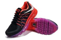 Nike Air Max 2015 Womens Black Red Purple