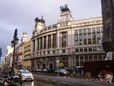 Calles de Madrid, Spain.
