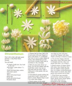Sugar flower tutorial