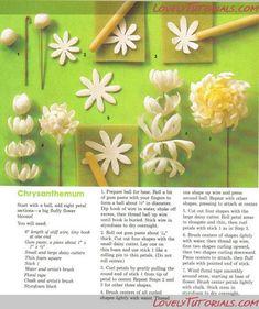 Sugar flower tutorial