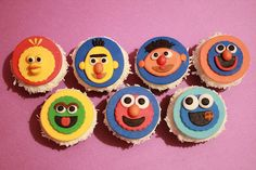Sesame Street Cupcakes by The Cupcake Place, via Flickr