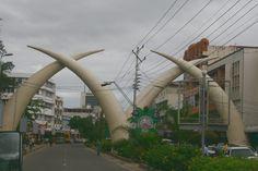 Mombasa. Een herkenningspunt.