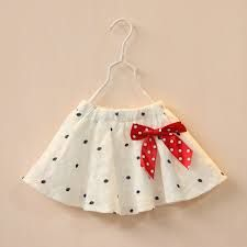 Resultado de imagen para faldas de niña 2015