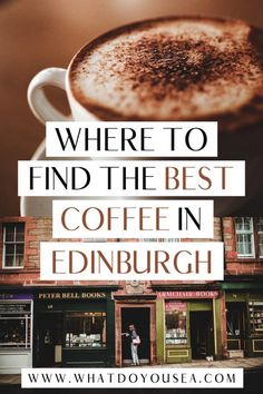The 15 Best Coffee Shops In Edinburgh: A Coffee Lover's Guide in 2020 (With images) Edinburgh Scotland, Scotland Travel, Scotland Trip, Ireland Travel, Scotland Food, Edinburgh Travel, Scotland Vacation, Best Coffee Shop, Coffee Shops