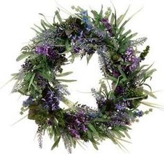 Take a look at this lavender twig wreath by allstate for Allstate floral and craft