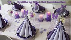 Merry Christmas Gif, Tiffany Wedding, Wedding Decorations, Table Decorations, Table Set Up, Napkin Folding, Deco Table, Table Centerpieces, Craft Gifts
