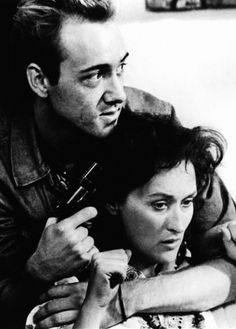 "With Kevin Spacey, ""Heartburn"" (1986)"