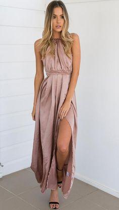 Chroma Dress (Mocha)