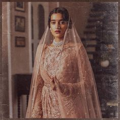 World Of Diva'ni Couture: Unfolding The Charm Of Old-World Fashion! Pakistani Wedding Dresses, Punjabi Wedding, Couture Collection, Bridal Collection, Bridal Looks, Bridal Style, Gota Patti Lehenga, Rajasthani Bride, Indian Aesthetic
