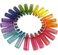 Color Glass Vials Glass Vials, Color, Colour, Colors