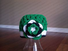 Shop for on Etsy, the place to express your creativity through the buying and selling of handmade and vintage goods. Crochet Baby Hats, Crochet Beanie, Knit Or Crochet, Crochet For Kids, Crochet Ideas, Hat Patterns, Crochet Patterns, Saskatchewan Roughriders, Emerald Green
