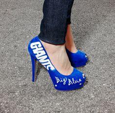 New York Giants heels